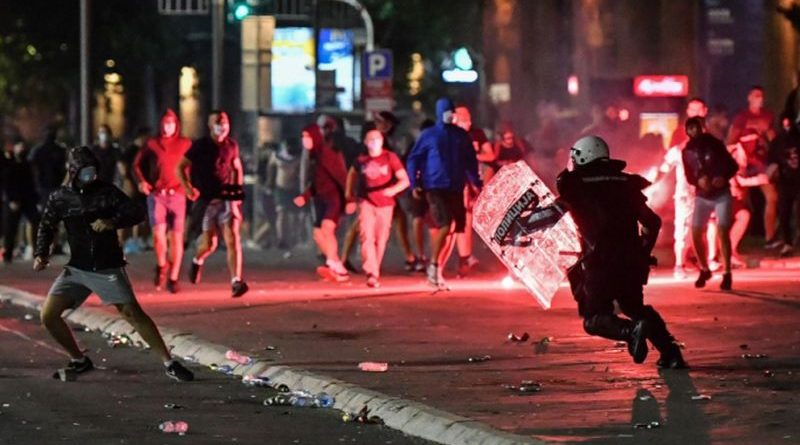 Beograd prosvjed