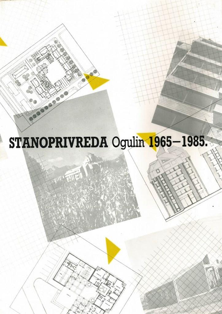 Naslovnica publikacije izdane povodom 20 godina djelovanja Stanoprivrede Ogulin