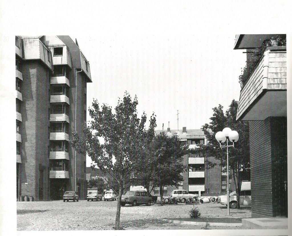 Unutrašnji prostor stambeno poslovnog kompleksa Naselje Ive Marinkovića, Ogulin