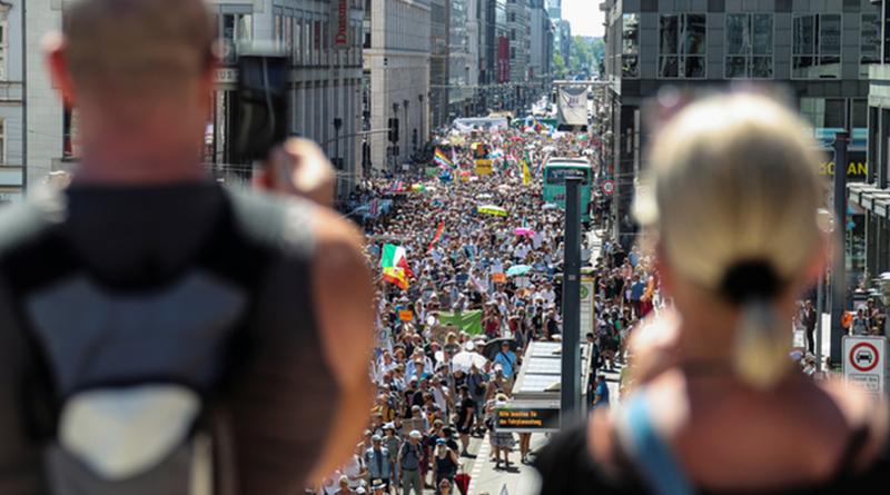 BERLIN prosvjed korona