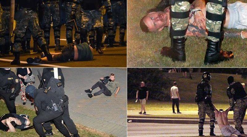 Bjelorusija prosvjed