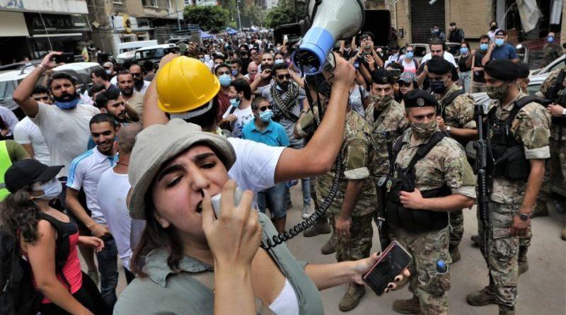 Libanon prosvjed