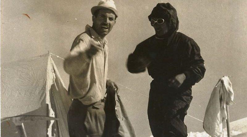 Maurice Herzog u podnožju Annapurne I ist