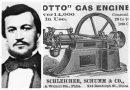 Nikolaus Otto 4. kolovoza 1877. patentirao 4-taktni motor, po njemu nazvan otto motor