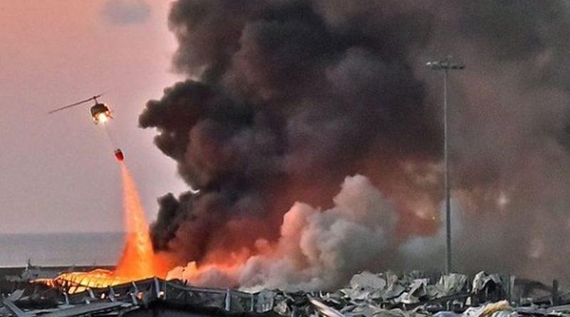 bejrut exploz ist