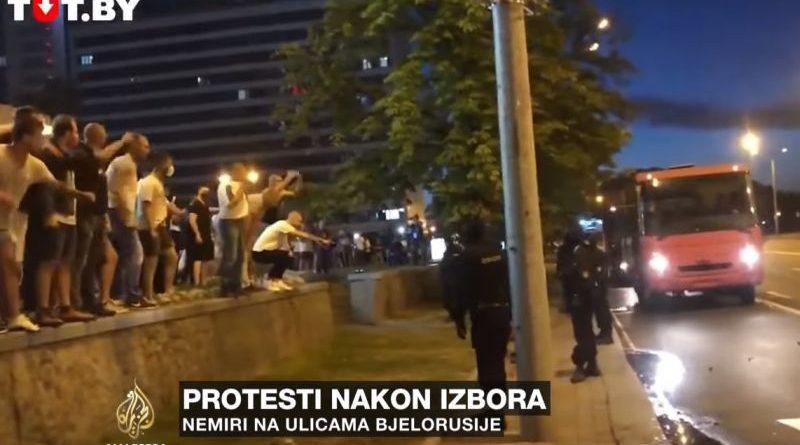 prosvjedi bjelorusija ist