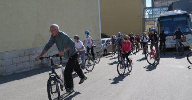 Vožnjom bicikla obilježili Europski školski, sportski dan