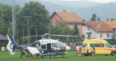 Ozlijeđen jedan policijski službenik, provodi se očevid