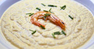 Gusta juha od bundeve i repova morskih kozica