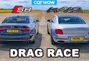 Audi S8 vs Bentley Flying Spur – dvoboj luksuznih limuzina, tko je kome uzeo mjeru?