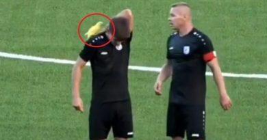 Papagaj sletio na leđa igraču Cibalije, prekinuo utakmicu i oduševio tribine