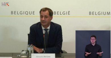 belgija covid ist