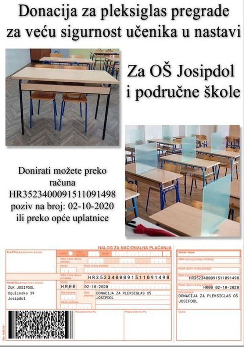 katarine donacije pleksiglas