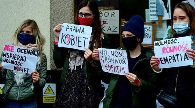 prosvjed abortus poljska