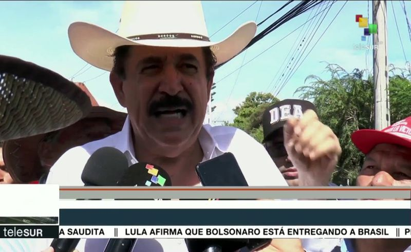 Manuel Zelaya ist