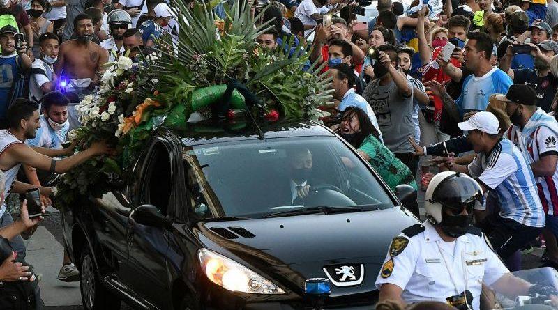Maradona pogreb