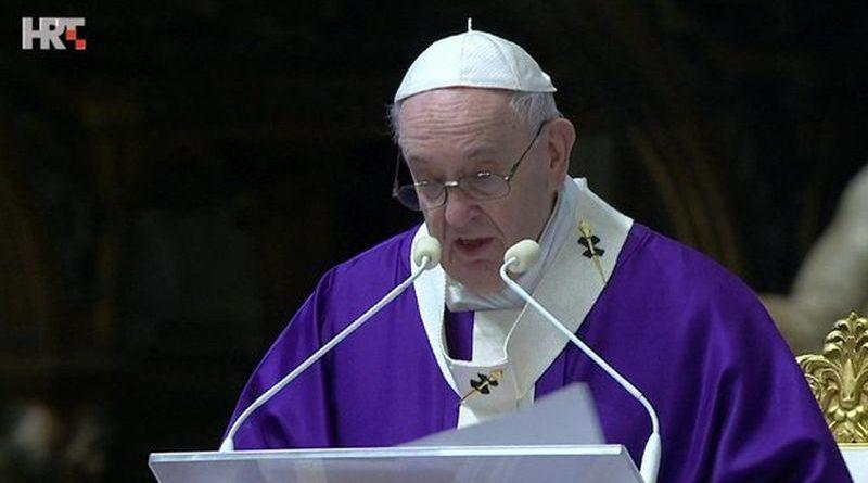 Papa Franjo 87 ist