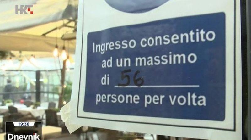 italija ograničenja ugostiteljstvu ist