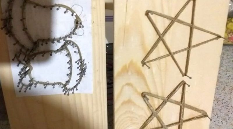 izrada nakita za advent udruga žena ist