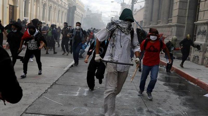 prosvjedi Guatemala ist