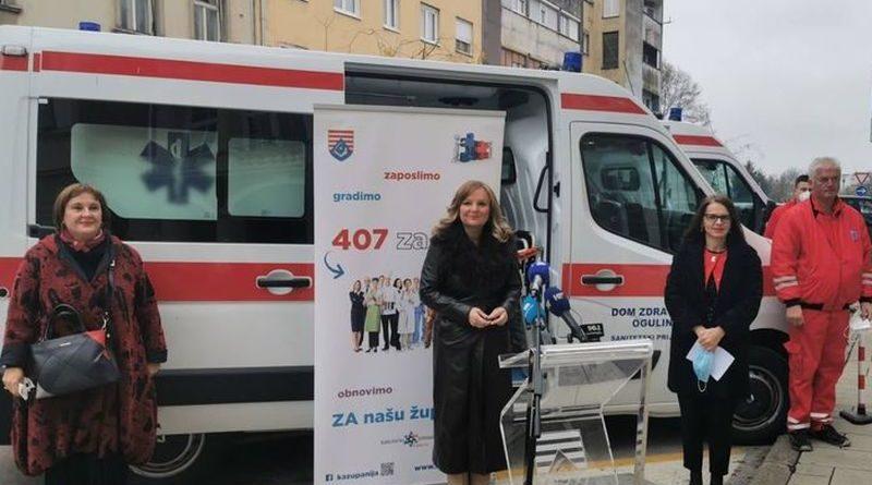 vozilo za ogulinski dom zdravlja ist