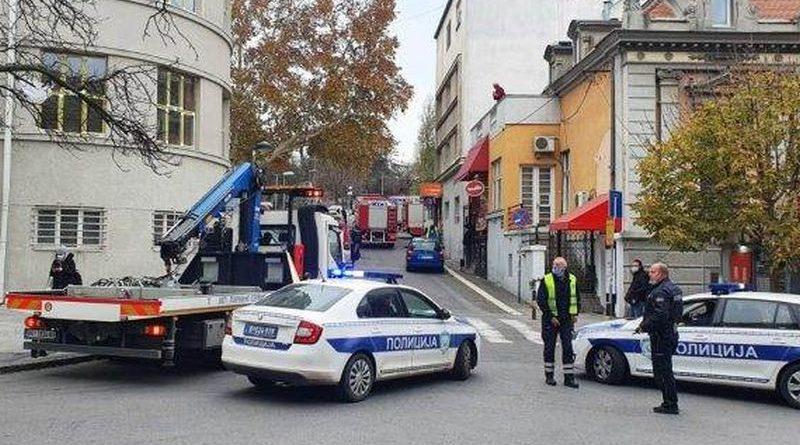 Beograd eksplozija