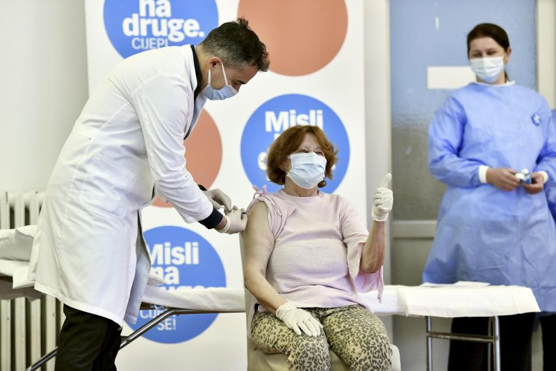 Branka prvo cjepivo u RH