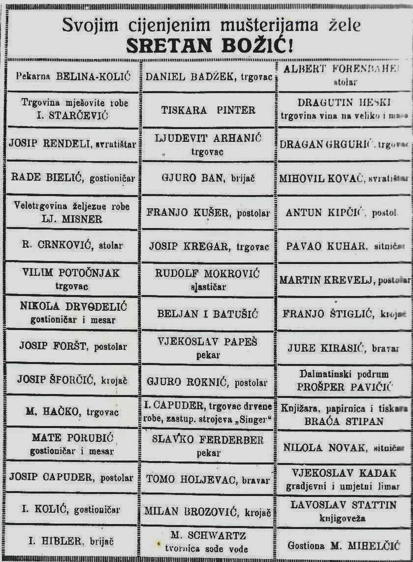 čestitka obrtnika 1923 ist