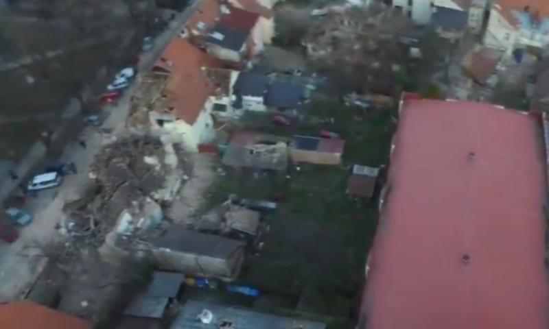 petrinja potres iz zraka ist