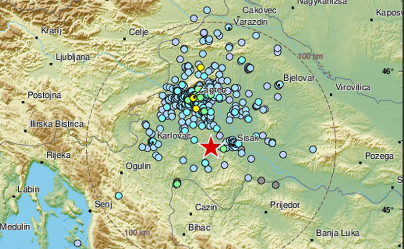 potres sisak petrinja hrv ist