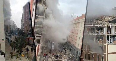 Snažna eksplozija odjeknula u Madridu: ima ozlijeđenih, snimke su potpuno strašne