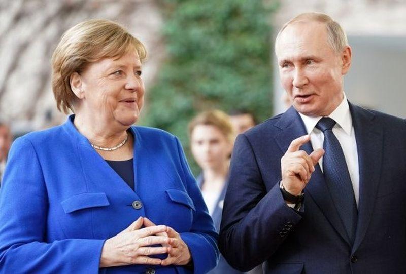 Merkel i Putin