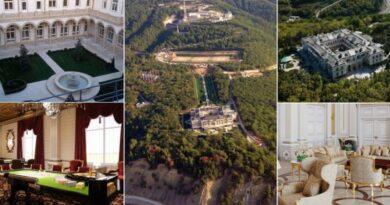 'Spavaća soba ima 260 kvadrata, tu su casino, bazeni, klizališe, kauč od 1,7 milijuna kuna…'