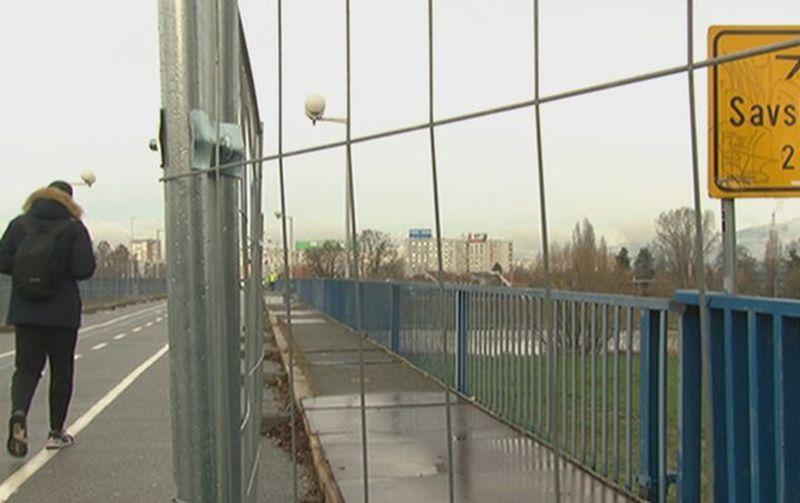 savski pješački most ist
