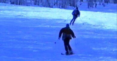 Ogulin nekad – Skijanje na Bjelolasici 1994. godine