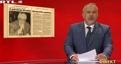 Predsjedništvo Saveza komunista HDZ-a raspravljalo o političko-ideološkim skretanjima na potresom pogođenom području i zaključilo da je netko od njih priglup