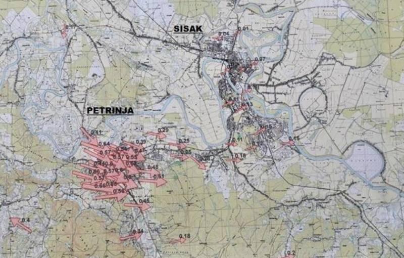 potresno područje Petrinje i Siska