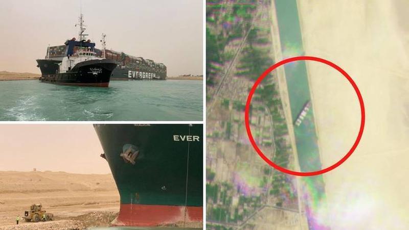 kontejnerski brod suez