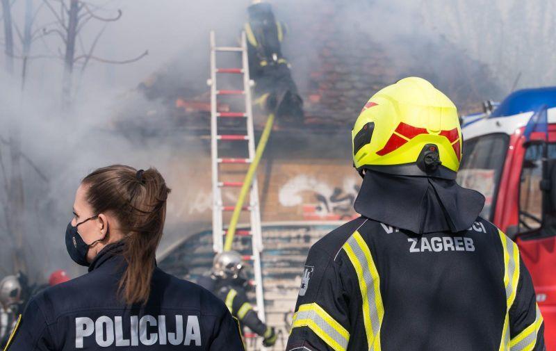 Požar Zagreb